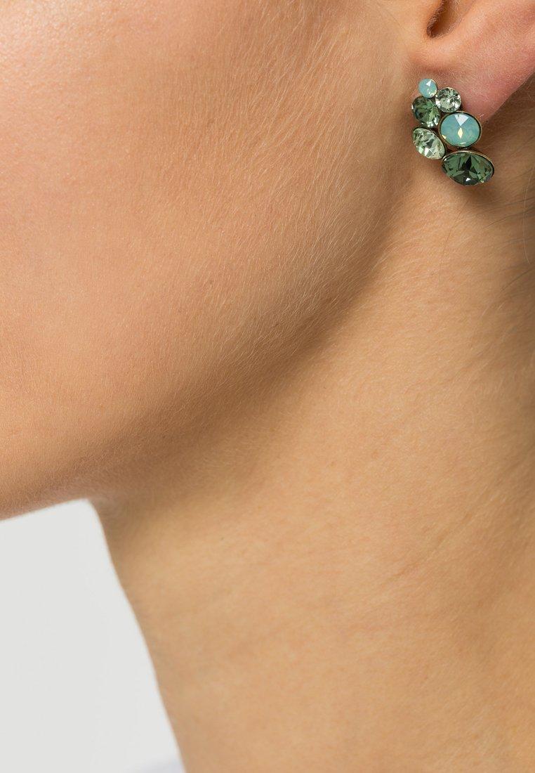 Konplott - PETIT GLAMOUR - Boucles d'oreilles - green antique