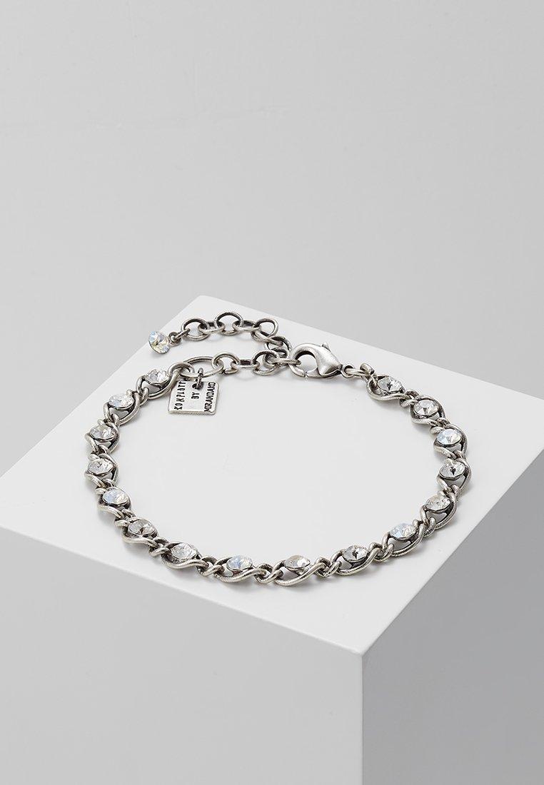 Konplott - MAGIC FIREBALL - Armbånd - white antique/silver-coloured