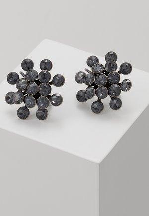MAGIC FIREBALL - Earrings - grey crystal