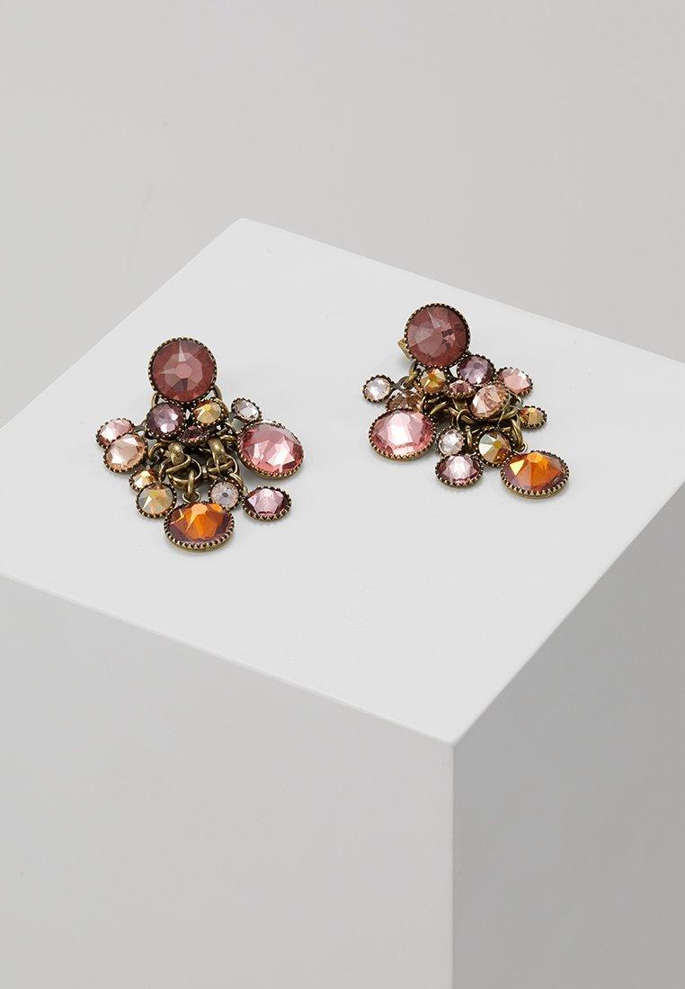 Konplott - WATERFALLS - Boucles d'oreilles - beige/pink