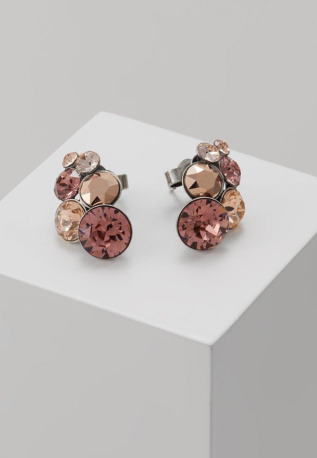 PETIT GLAMOUR - Earrings - beige/pink
