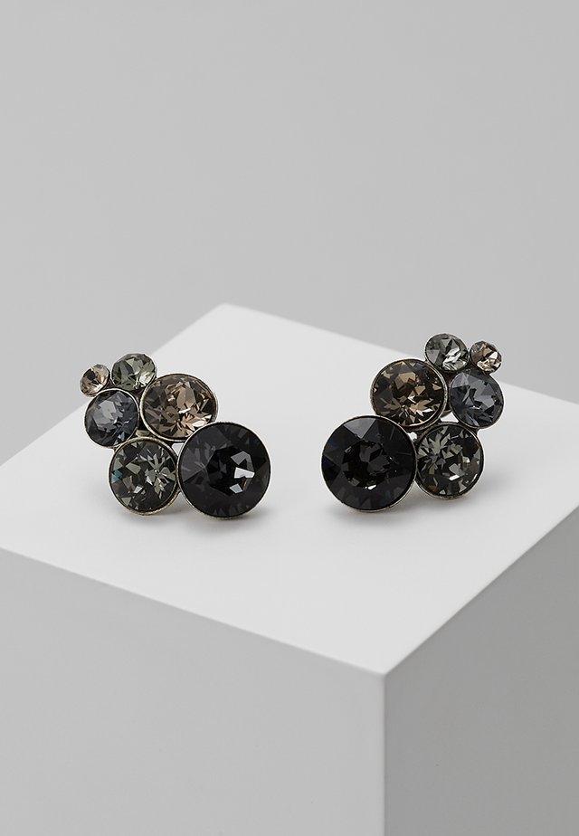 PETIT GLAMOUR - Boucles d'oreilles - grey