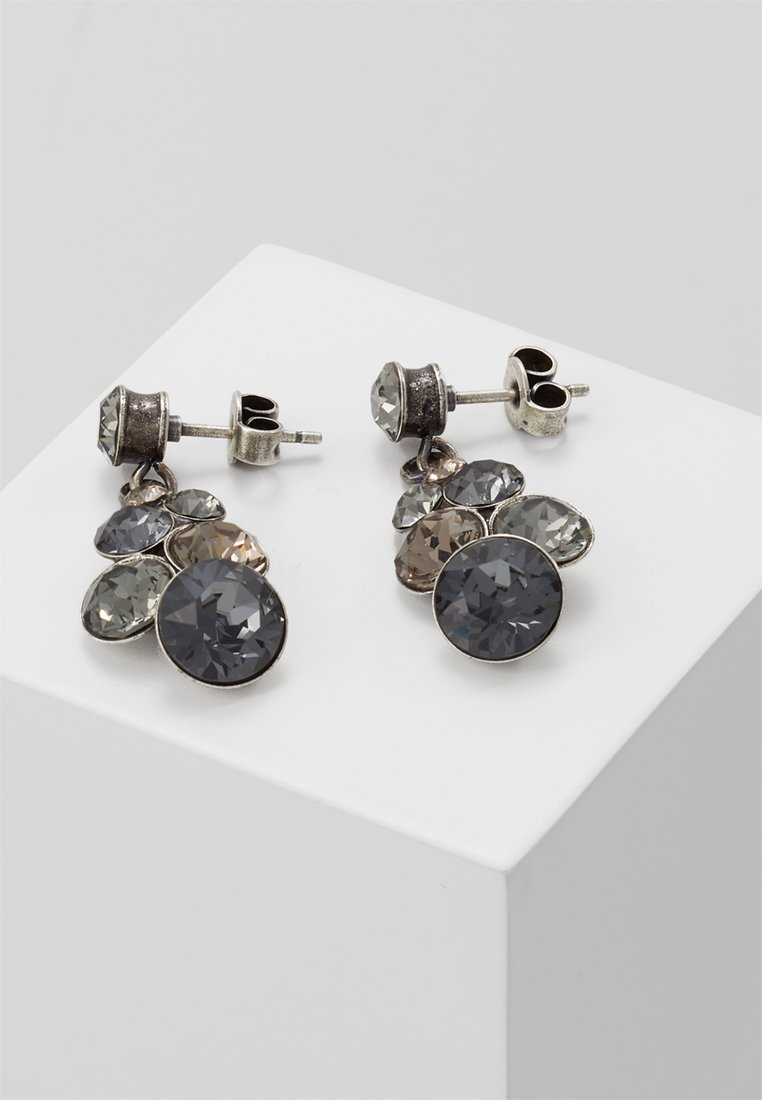 Konplott - PETIT GLAMOUR - Earrings - grey
