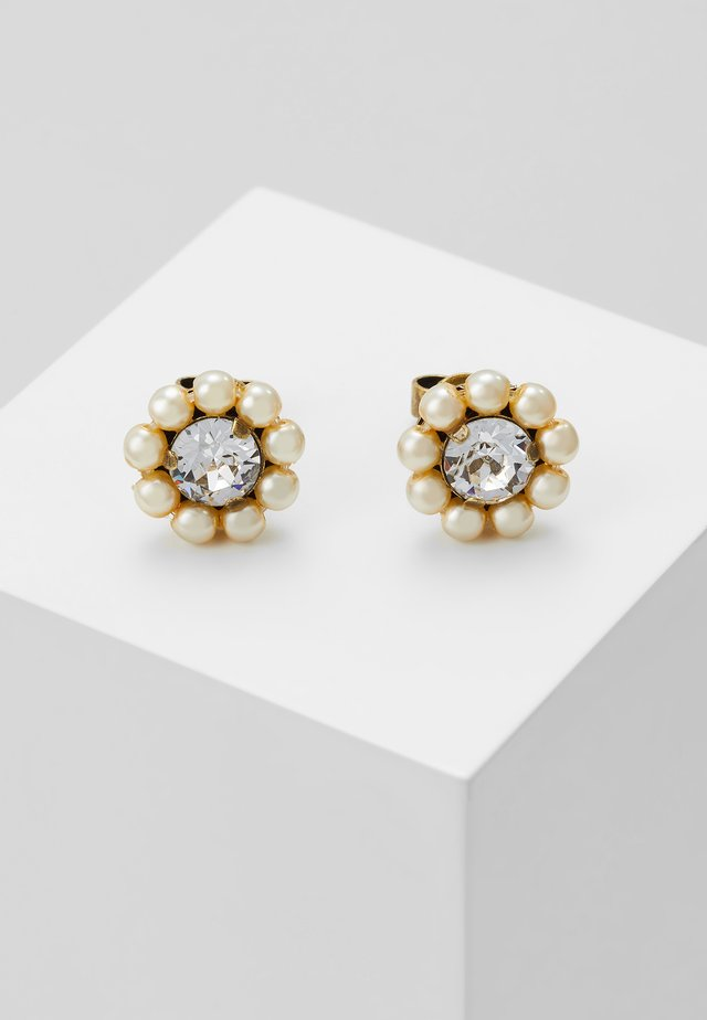 KALEIDOSCOPE ILLUSION - Earrings - white