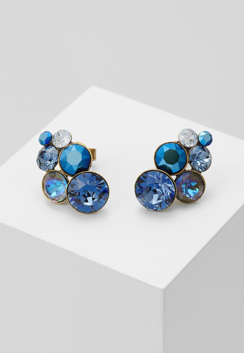 Konplott - PETIT GLAMOUR - Pendientes - dark blue