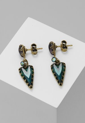 SNOW WHITE - Boucles d'oreilles - blue/green