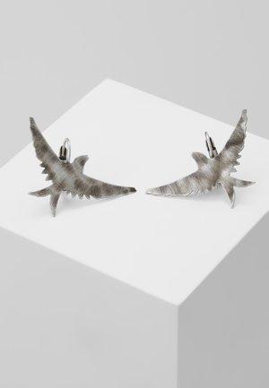 THE SPARROW - Náušnice - silver-coloured