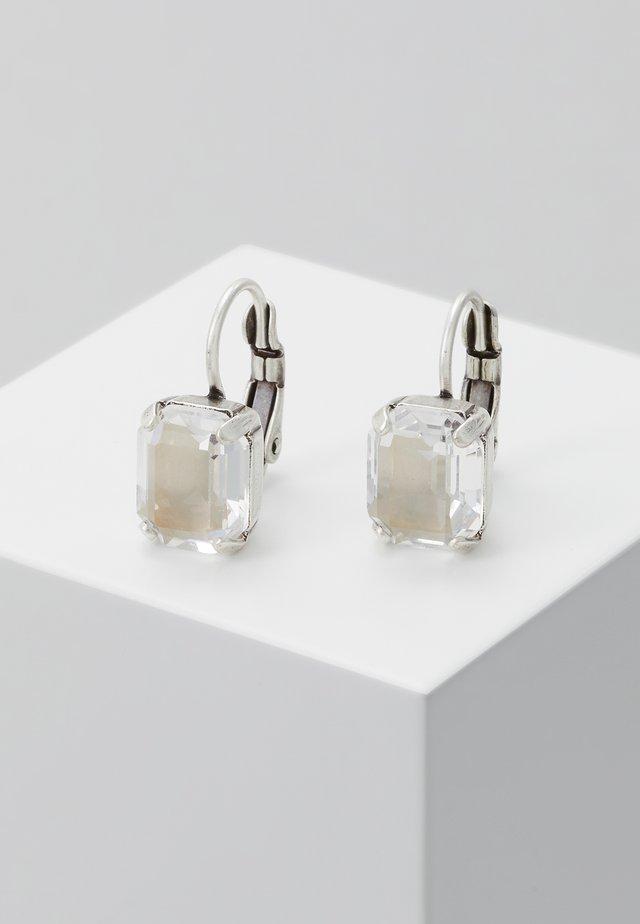 MIX THE ROCKS - Boucles d'oreilles - white