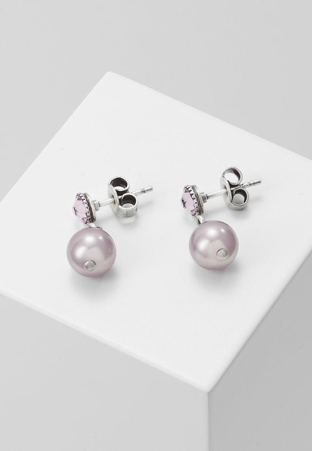 SHADOW - Earrings - pink