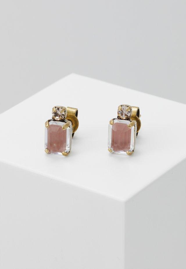 MIX THE ROCKS - Earrings - beige