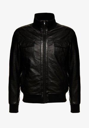 DANY - Leather jacket - black
