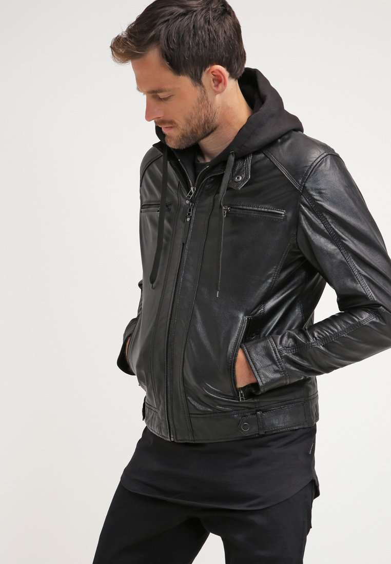 Serge Pariente - Leather jacket - black