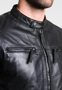 Serge Pariente - TONIC - Skinnjacka - black - 3