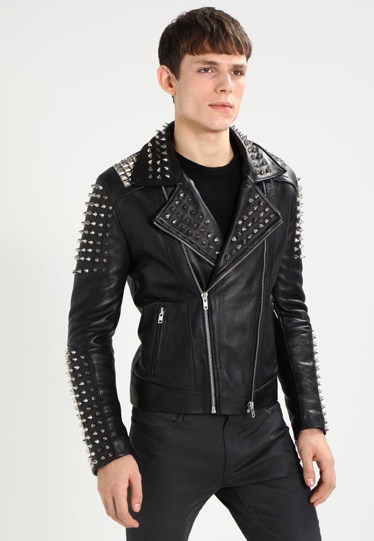 Serge Pariente - STUDER - Leather jacket - black