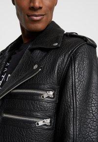 Serge Pariente - BIANCO - Leren jas - black - 4