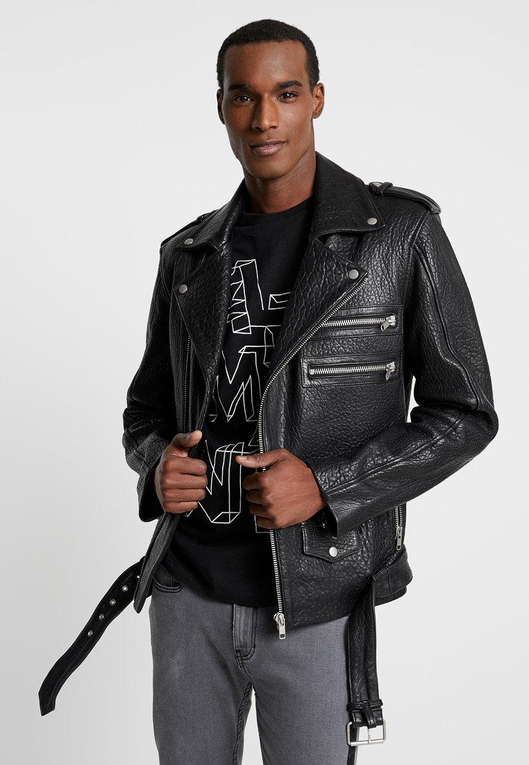 Serge Pariente - BIANCO - Leren jas - black