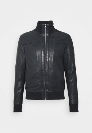 SOUL - Leren jas - black