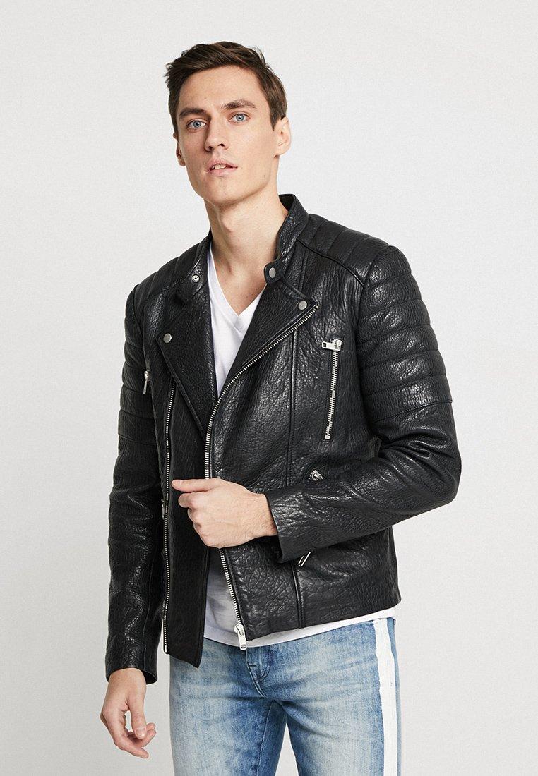 Serge Pariente - GLADIATOR - Kožená bunda - black