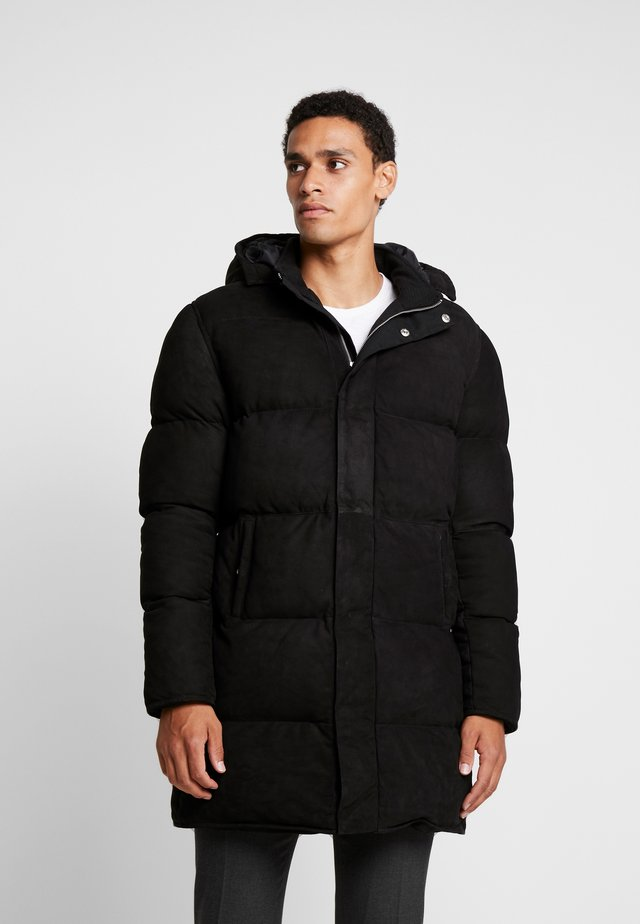 HOT - Leren jas - black