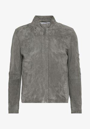 SYLVINO - Veste en cuir - grey