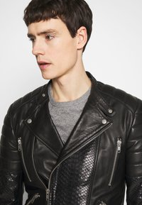 Serge Pariente - GLADATORPYTON - Leather jacket - black - 3
