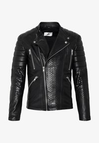 Serge Pariente - GLADATORPYTON - Leather jacket - black - 4