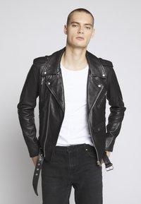 Serge Pariente - STYLE - Kožená bunda - black - 0