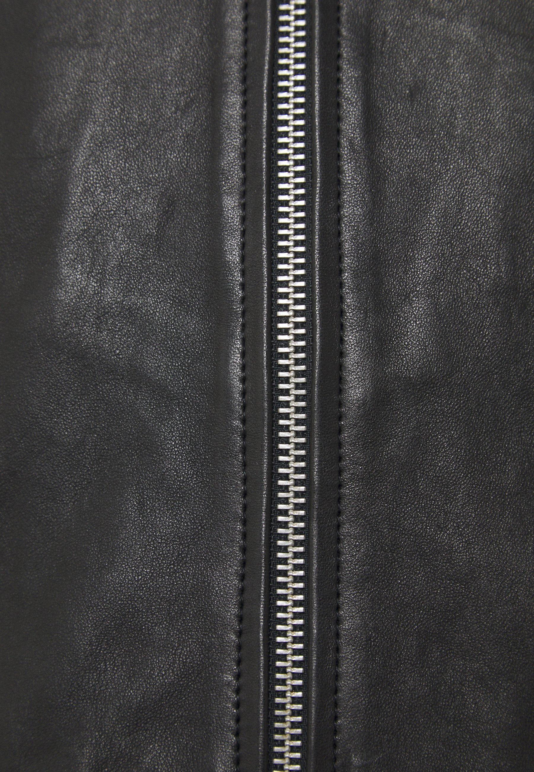 Serge Pariente Veste En Cuir - Black yn86OYU