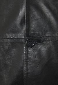Serge Pariente - Leren jas - black - 2