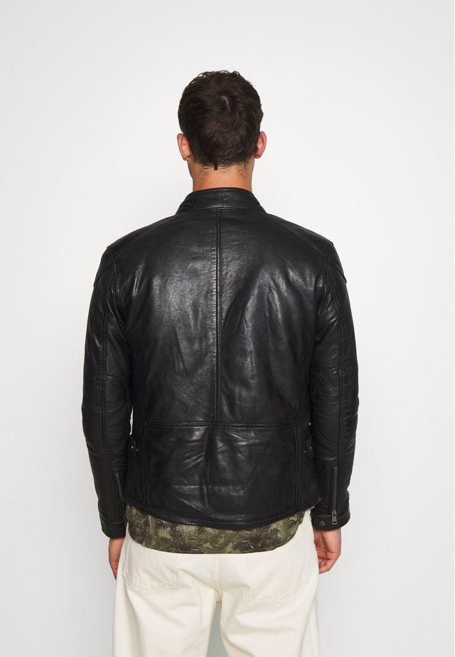 CHIC - Veste en cuir - black