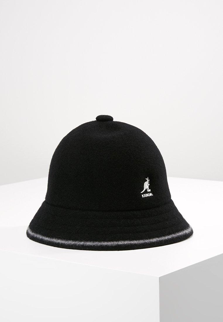 Kangol - STRIPE CASUAL - Hat - black/offwhite