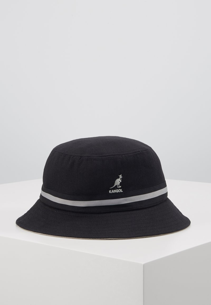 Kangol - STRIPE LAHINCH - Klobouk - black