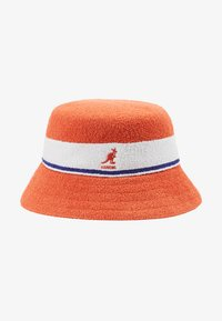 Kangol - BERMUDA STRIPE BUCKET - Klobouk - fiery orange - 5