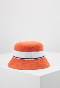 Kangol - BERMUDA STRIPE BUCKET - Klobouk - fiery orange - 2