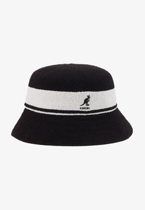 BERMUDA STRIPE BUCKET - Hoed - black