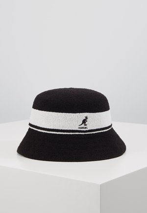 BERMUDA STRIPE BUCKET - Klobouk - black