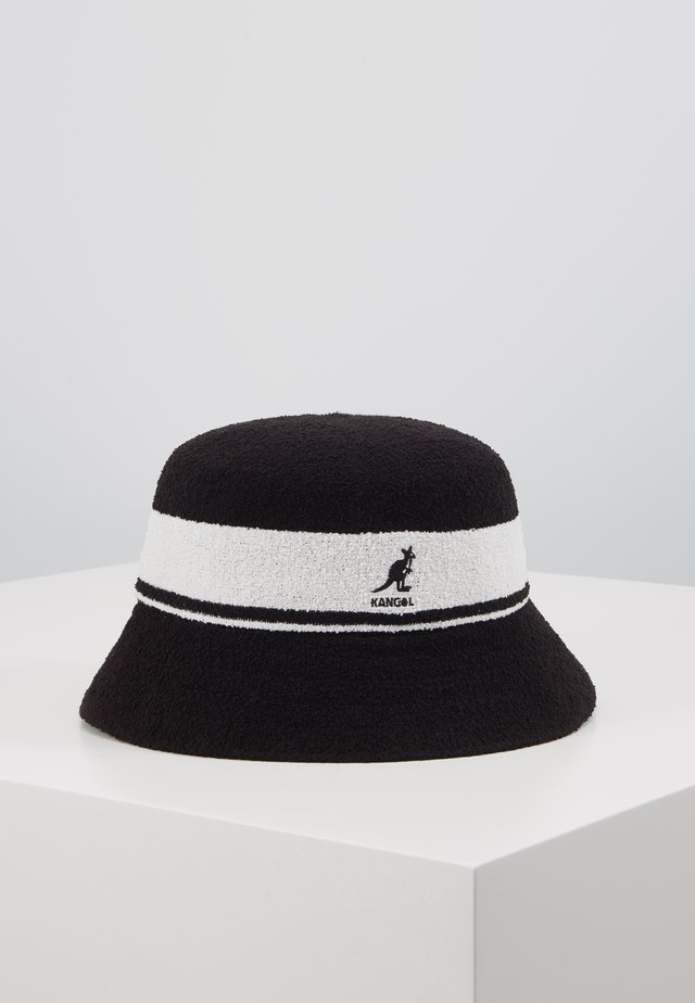 BERMUDA STRIPE BUCKET - Hatte - black