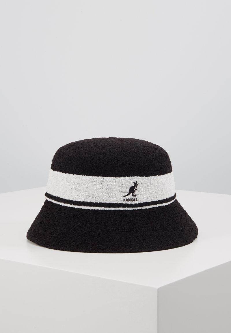 Kangol - BERMUDA STRIPE BUCKET - Klobouk - black