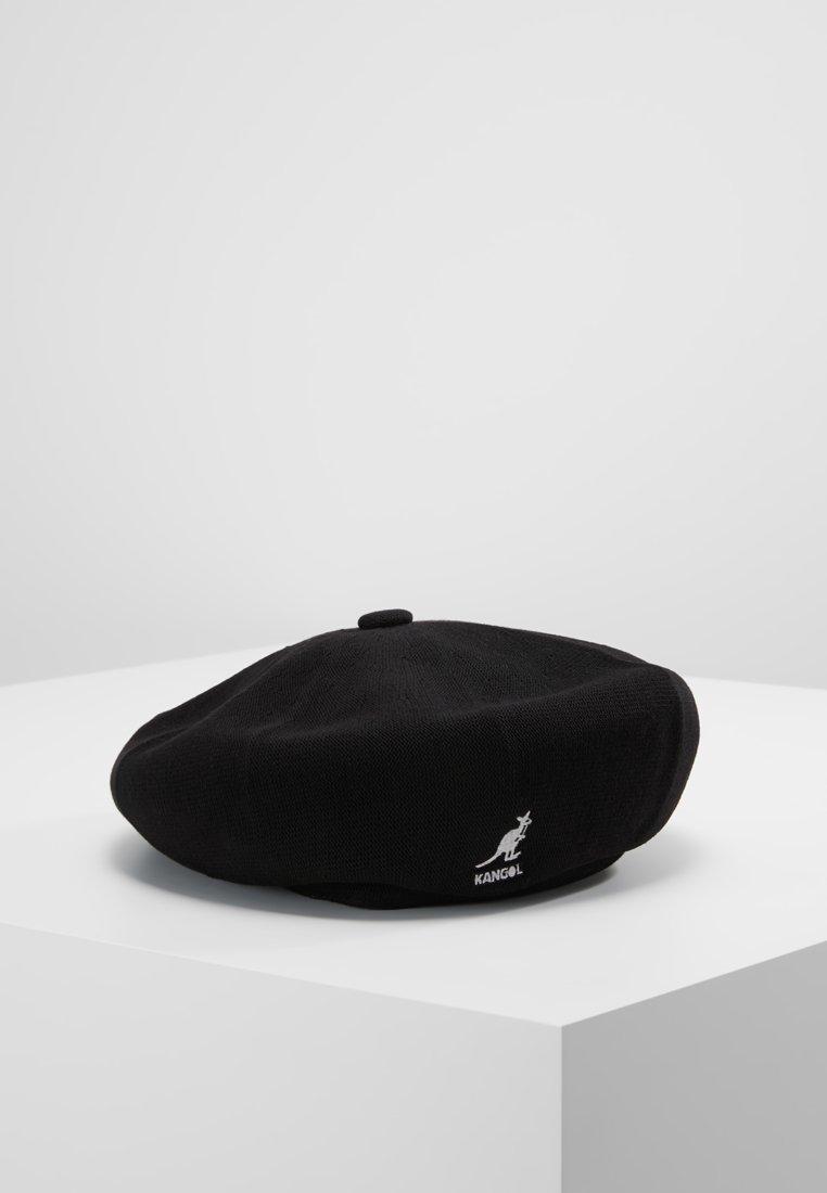 Kangol - BAMBOO JAX BERET - Čepice - black