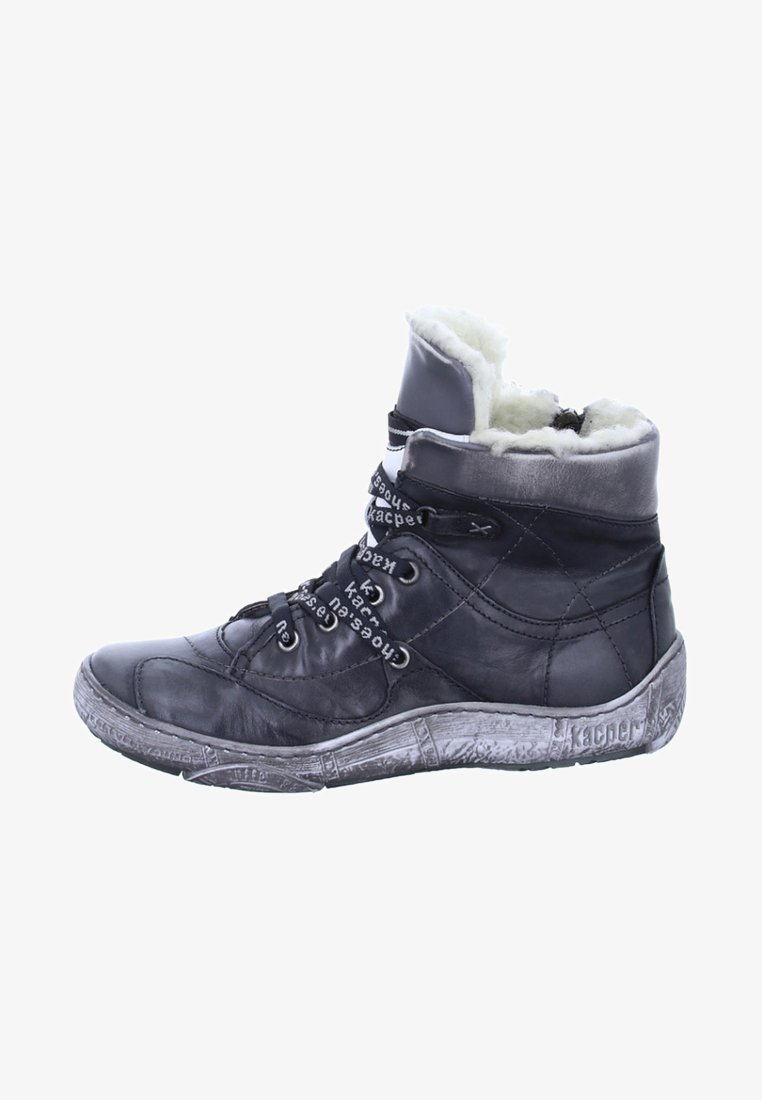 Kacper - Lace-up ankle boots - grey