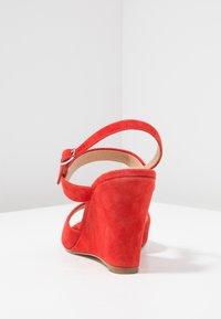 KIOMI - High heeled sandals - red - 5