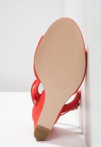 KIOMI - High heeled sandals - red - 6
