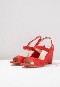 KIOMI - High heeled sandals - red - 4