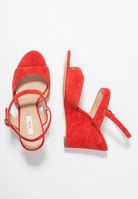KIOMI - High heeled sandals - red - 3