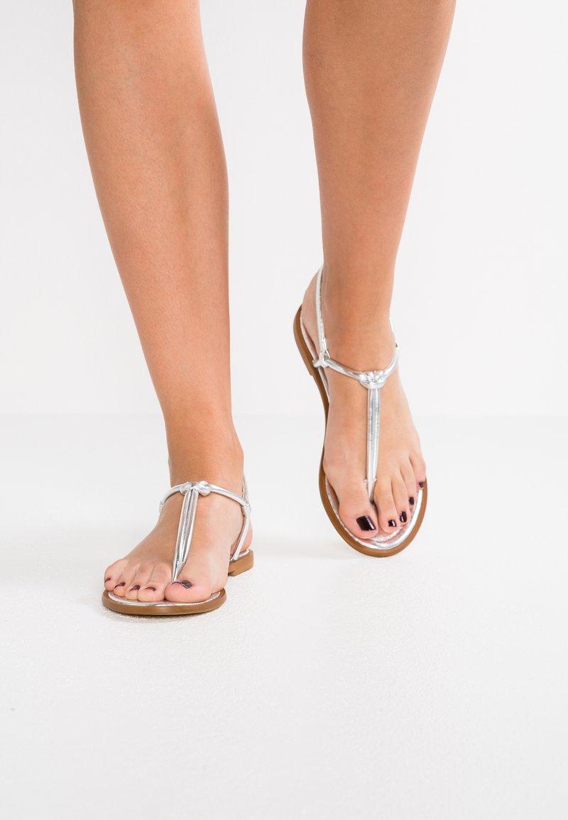 KIOMI - T-bar sandals - silver