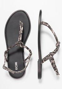 KIOMI - Sandály s odděleným palcem - black - 3