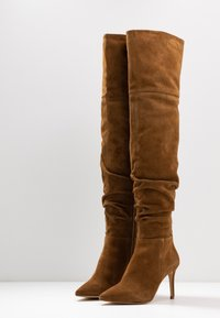KIOMI - High heeled boots - cognac - 4