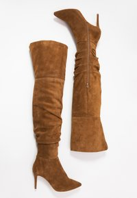 KIOMI - High heeled boots - cognac - 3