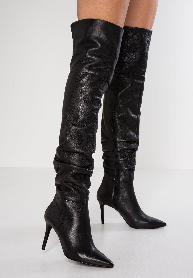 KIOMI - High heeled boots - black