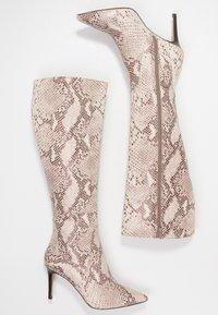 KIOMI - Boots med høye hæler - beige - 3